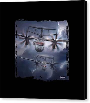 E-2d Hawkeye Canvas Print