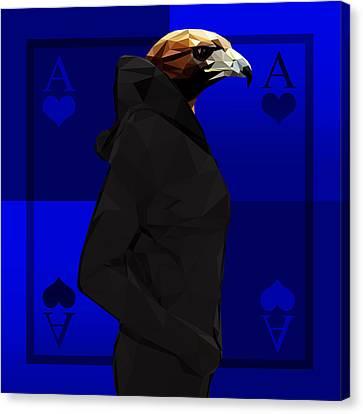 Eagle Canvas Print by Gallini Design