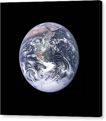Earth Canvas Print by New York Prints