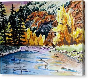 East Clear Creek Canvas Print