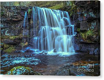 Waterfalls Canvas Print - East Gill Force by Nichola Denny