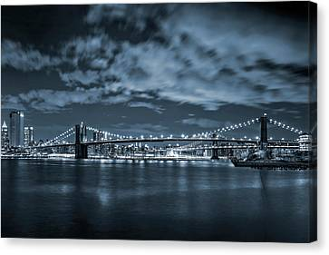 East River View Canvas Print