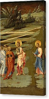 Agnus Canvas Print - Ecce Agnus Dei by Giovanni di Paolo