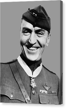 Eddie Rickenbacker  Canvas Print by War Is Hell Store