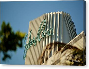 Eden Roc Hotel Miami Beach Canvas Print