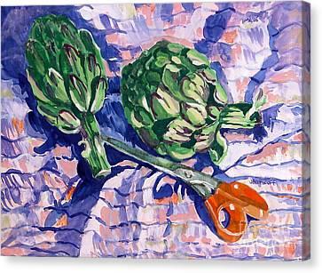Edible Flowers Canvas Print