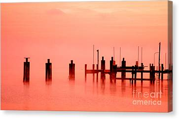 Eery Morn' Canvas Print by Clayton Bruster