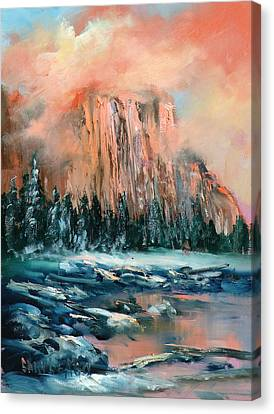 El Capitan Canvas Print by Sally Seago