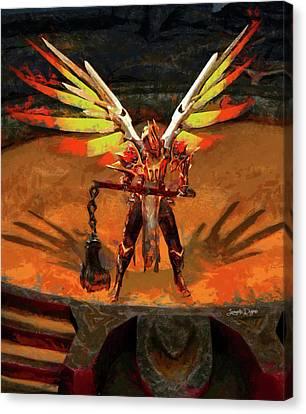 El Diablo - Free Style Canvas Print