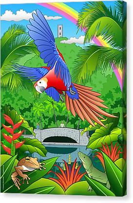 El Yunque Rain Forest  Canvas Print by Erasmo Hernandez