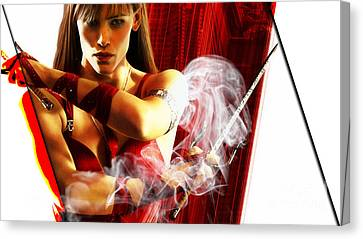 Elektra Collection Canvas Print by Marvin Blaine