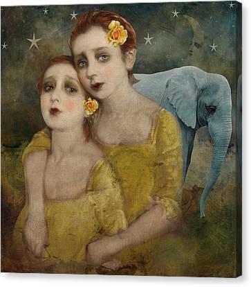 Elephant Dreamer Canvas Print
