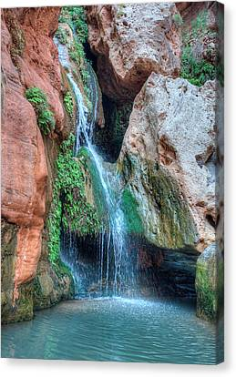 Elves Chasm Canvas Print by Britt Runyon