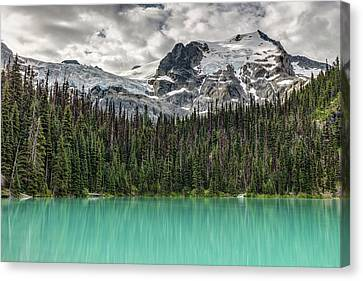 Canvas Print featuring the photograph Emerald Reflection by Pierre Leclerc Photography