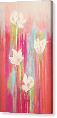Canvas Print featuring the painting Simplicity 2 by Irene Hurdle