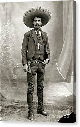 Emiliano Zapata Canvas Print by Pg Reproductions
