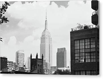 Newyorkcity Canvas Print - Empire State Building by Joe Burns