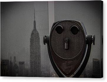 Empire State View Canvas Print by Martin Newman