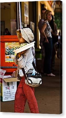 En Route To Siem Reap Canvas Print