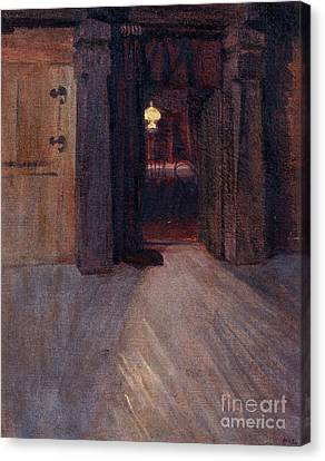 Entrance To Kalelas Dining Room Canvas Print