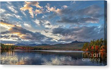 Mt Chocorua Canvas Print - Evening At The Lake by Scott Thorp