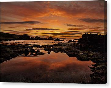 Evenings End Canvas Print by Roy McPeak