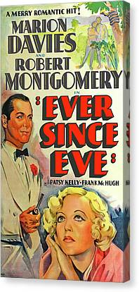 Ever since Eve Marion Davies 1937 movie poster print