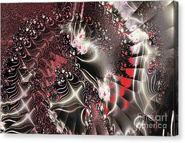 Experiment 10 Canvas Print by Geraldine DeBoer