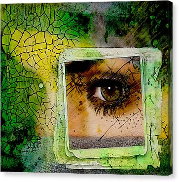 Eye, Me, Mine Canvas Print