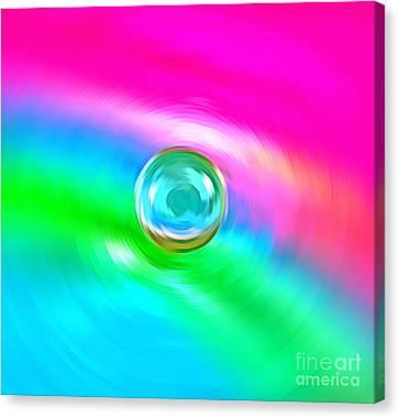 Marble Eyes Canvas Print - Eye Of The Beholder by Krissy Katsimbras