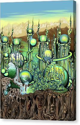 Ezmerelda Canvas Print by Ben Christianson