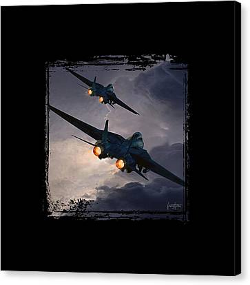F-14 Flying Iron Canvas Print