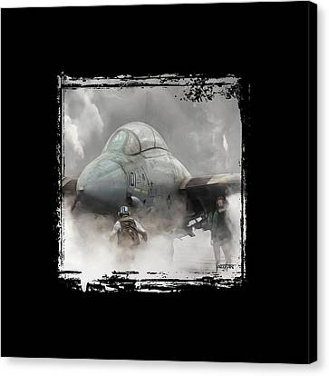 F-14 Smokin' Hot Canvas Print