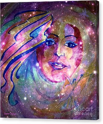 Dust Canvas Print - Faerie by Leanne Seymour