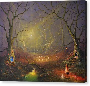 The Fairy Ring Canvas Print