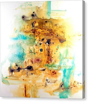 Jerusalem Canvas Print - Faith Like A Mustard Seed by Ivan Guaderrama