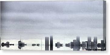 Fallen City Canvas Print