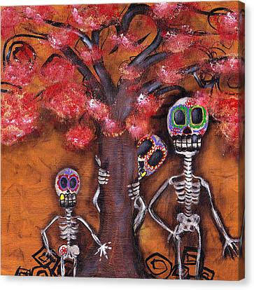 Family Tree Canvas Print by  Abril Andrade Griffith