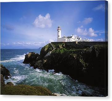 Fanad Lighthouse, Co Donegal, Ireland Canvas Print by The Irish Image Collection