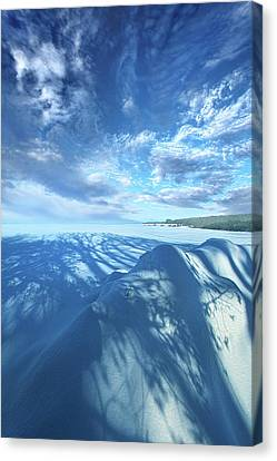 Canvas Print featuring the photograph Far And Away by Phil Koch