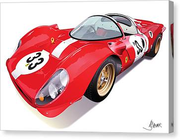 Ferrari 330 P4 Canvas Print