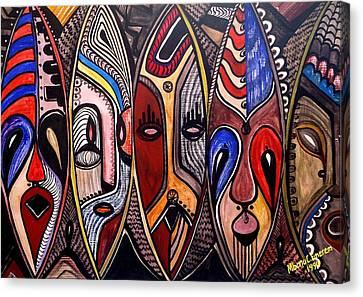 Figment Canvas Print - Figment Of My Imaginations by Mbonu Emerem