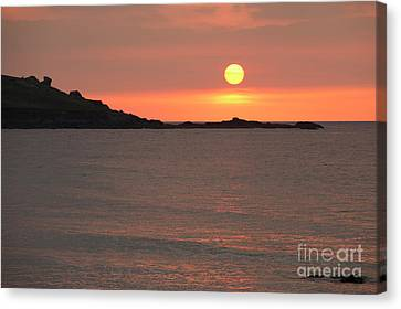 Fine Art Sunset Canvas Print