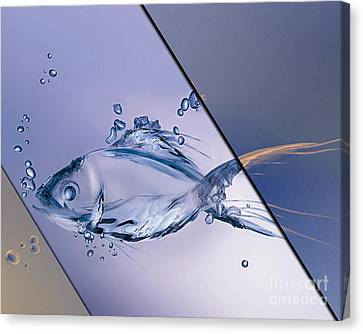 Fish Collection Canvas Print