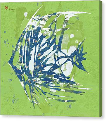 Popular Canvas Print - Fish - Pop Art  Poster by Kim Wang