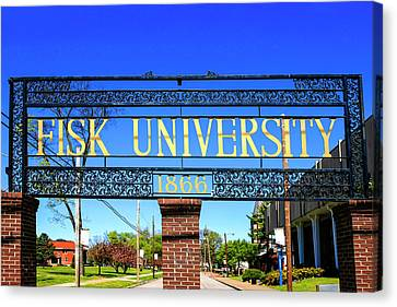 Fisk University Nashville Canvas Print