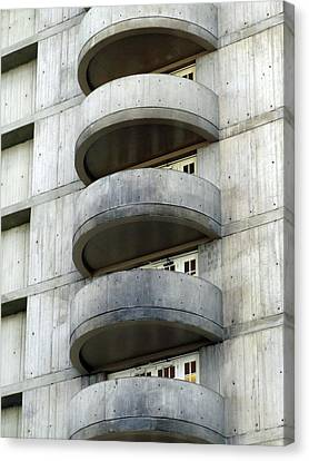 Canvas Print - Five Floors Up by Ross Odom