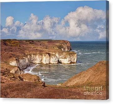 Flamborough Head Canvas Print by Colin and Linda McKie
