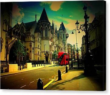 Fleet Street Canvas Print