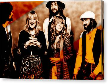 Fleetwood Mac Collection Canvas Print by Marvin Blaine